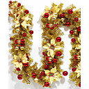 رخيصةأون تزيين المنزل-عطلة زينة ديكور عيد الميلاد المجيد الزخارف عطلة 1SET