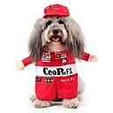 رخيصةأون أساور ساعات هواتف أبل-قط كلب ازياء تنكرية الشتاء ملابس الكلاب أحمر كوستيوم تيريليني قطن شخصية الكوسبلاي S M L XL