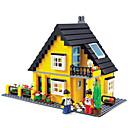 رخيصةأون البناء و المكعبات-لبيع الهدايا أحجار البناء بلاستيك 5 ل 7 سنوات / 8 ل 13 سنة ألعاب