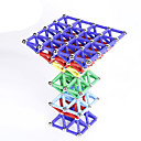 رخيصةأون مخففات التوتر-60 pcs ألعاب المغناطيس مكعبات مغناطيسية العصي المغناطيسية البلاط المغناطيسي أحجار البناء المعدنية بلاستيك حداثة للأطفال / للبالغين للصبيان للفتيات ألعاب هدية