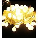 povoljno LED svjetla u traci-10m Žice sa svjetlima 100 LED diode Toplo bijelo / RGB / Bijela Vodootporno 220 V / IP65