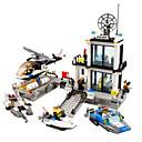 رخيصةأون القلائد-أحجار البناء كتل عسكرية مجموعة ألعاب البناء 1 pcs شرطة جندي متوافق Legoing حداثة للصبيان للفتيات ألعاب هدية / ألعاب تربوية