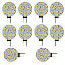 ieftine Becuri De Mașină LED-led bulb g4 masina rotunda camion marin rv acasa lumina 9 smd 5730 120 grade 12-24v dc / ac (10 bucati)