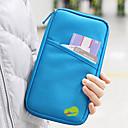 رخيصةأون أدوات الحمام-منظم السفر / حقيبة السفر / حامل الجواز و الهوية سعة كبيرة / مقاوم للماء / المحمول إلى ملابس قماش / لون سادة السفر