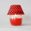 povoljno Dekoracija doma-stolna svjetiljka modeliranje svijeće 7.5 * 9 cm u boji slučajna