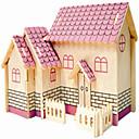 رخيصةأون ساعات النساء-تركيب خشبي طيارة بيت المستوى المهني خشب 1 pcs للصبيان للفتيات ألعاب هدية