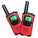 رخيصةأون حافظات / جرابات هواتف جالكسي A-T48 حاملة اليد / تناظرية VOX / تشفير / استجابة اتوماتيكية 5KM-10KM 5KM-10KM 22Channels 1200mAh 0.5W اسلكية تخاطب راديو إرسال واستقبال