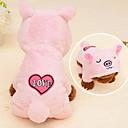 voordelige iPhone 5 hoesjes-Kat Hond kostuums Hoodies Winter Hondenkleding Geel Blauw Roze Kostuum Baby Kleine hond Corduroy dier Cosplay XS S M L XL