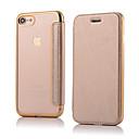 povoljno iPhone maske-Θήκη Za Apple iPhone 8 Plus / iPhone 8 / iPhone 7 Plus Zaokret Korice Jednobojni Tvrdo PU koža