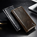 voordelige Galaxy J-serie hoesjes / covers-hoesje Voor Samsung Galaxy S5 / S4 Portemonnee / Kaarthouder / met standaard Volledig hoesje Effen PU-nahka