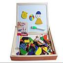 رخيصةأون ساعات الرجال-1 pcs ألعاب المغناطيس ألعاب المغناطيس تركيب تركيب خشبي النماذج الخشبية بلاستيك محبوب ألعاب هدية