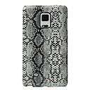 Недорогие Чехлы и кейсы для Galaxy Note Edge-Кейс для Назначение SSamsung Galaxy Note Edge Защита от удара Кейс на заднюю панель Полосы / волосы Твердый Кожа PU