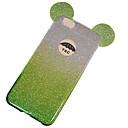 رخيصةأون خواتم-غطاء من أجل Apple iPhone 8 Plus / iPhone 8 / iPhone 7 Plus غطاء خلفي بريق لماع ناعم TPU