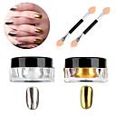 abordables Maquillaje y manicura-2pcs Brillante Para arte de uñas Manicura pedicura Moderno Diario / Fiesta de Cóctel