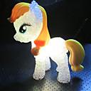 povoljno LED noćna rasvjeta-1 kom. Figurica Svjetiljka Promjenjive boje / Male veličine Umjetnički / Suvremena suvremena
