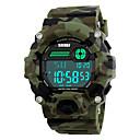 ieftine Ceasuri Damă-SKMEI Bărbați Ceas Sport Ceas Militar  Ceas de Mână Digital Piele PU Matlasată Multicolor 30 m Rezistent la Apă Alarmă Calendar Piloane de Menținut Carnea camuflare verde Doi ani Durată de Via / LED