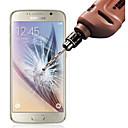 رخيصةأون حافظات / جرابات هواتف جالكسي S-حامي الشاشة إلى Samsung Galaxy S6 زجاج مقسي حامي شاشة أمامي ضد البصمات