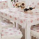 رخيصةأون شرشفات الطاولة-مربع ورد منقوشة قماش الطاولة , بوليستر مادة فندق مائدة طعام