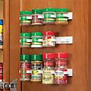 olcso Étel tárolás-konyhai üveg fűszer szervező rack szekrény ajtó fűszer klipek 20-klip készlet