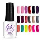 sexymix nail art 7ml pure color gel polish soak nail varnish uv glue manicure tool long lasting