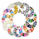 ieftine Îngrijire Unghii-13 pcs Bijuterie unghii Perlă Ștrasuri Încântător nail art pedichiura si manichiura Zilnic Fructe / Modă / Unghiul de bijuterii