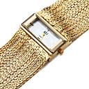 ieftine Ceasuri Damă-ASJ Pentru femei Ceas Brățară ceas de aur Piața de ceas Japoneză Quartz Cupru Argint 30 m Rezistent la Apă Rezistent la Șoc Analog femei Charm Casual - Argintiu Auriu Un an Durată de Viaţă Baterie