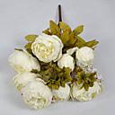povoljno Šminka i njega noktiju-Umjetna Cvijeće 1 Podružnica Simple Style Peonies Cvjeće za stol