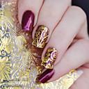 ieftine Îngrijire Unghii-1 pcs 3D Acțibilduri de Unghii nail art pedichiura si manichiura Modă Zilnic / 3D pentru autocolante