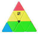 Rubik's Cube YongJun MoYu Pyramid 3*3*3 Smooth Speed Cube Magic Cube Puzzle Cube Professional Level Smooth Colorful New Year Children's