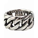 povoljno Prstenje-Muškarci Prsten Srebro Titanium Steel Vintage Punk Moda Party Dnevno Jewelry