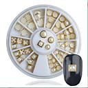 ieftine Cercei-1 pcs Ștras Bijuterie unghii Perlă Pentru Unghie nail art pedichiura si manichiura Stil Clasic / Unghiul de bijuterii