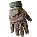 povoljno Odjeća za lov-Rukavice za Lov Muškarci Terilen Crn / Vojska Green / Žutomrk