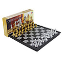 رخيصةأون ساعات الرجال-ألعاب الطاولة لعبة الشطرنج شطرنج مغناطيس قابل للسحب 1 pcs للصبيان للفتيات ألعاب هدية