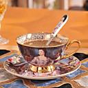 رخيصةأون أدوات الفرن-DRINKWARE أكواب الشاي / زجاجات المياه / أقداح القهوة خزفي المحمول حفلة شاي