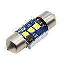 رخيصةأون أضواء السيارة الداخلية-SO.K 2pcs 31mm سيارة لمبات الضوء 3 W SMD 5730 300 lm LED أضواء الداخلية