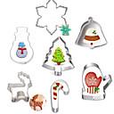 ieftine Abajure Perete-7pcs Teak Crăciun Reparații Tort Biscuiți Plăcintă desen animat în formă Animal coacere Mold Instrumente de coacere
