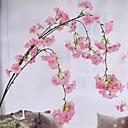povoljno Odjeća za psa i dodaci-Umjetna Cvijeće 1 Podružnica Pastoral Style Japanska trešnja Zidno cvijeće