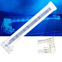 رخيصةأون جهاز فيديو DVR للسيارة-حوض السمك الخفيفة ضوء LED حوض للأسماك الخفيفة أبيض مع قواطع بلاستيك 4, 6, 8, 10 W 220 V