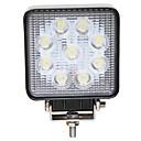 ieftine Lumini de Ceață Mașină-JIAWEN 1 Bucată Conexiune prin cablu Mașină Becuri 27 W LED Performanță Mare 9 LED Bec Ceață Pentru Toți Anii