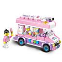 ieftine Ustensile & Gadget-uri de Copt-ENLIGHTEN Jucării pentru mașini Lego Seturi de jucării pentru construcții 213 pcs Mașină Înghețată compatibil Legoing Creative Încântător Elegant & Luxos Fermecător & Dramatic Desen animat Băieți Fete