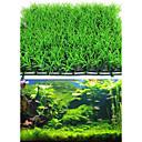 رخيصةأون زينة حوض السمك-حوض سمك ديكور حوض السمك نبات مائي نباتات اصطناعية أخضر اصطناعي بلاستيك قطعتين 25*25*3 cm
