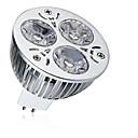 ieftine Spoturi LED-1 buc 9 W Spoturi LED 600-700 lm MR16 3 LED-uri de margele LED Putere Mare Decorativ Alb Cald Alb Rece 12 V / 1 bc / RoHs