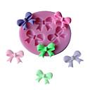 رخيصةأون أدوات الفرن-3 حفرة القوس التعادل سيليكون قالب الكعكة فندان الشوكولاته sugarcraft