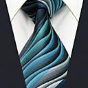 رخيصةأون ربطات عنق-ربطة العنق هندسي / ألوان متناوبة / خملة الجاكوارد رجالي - أساسي حفلة / عمل