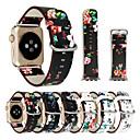 זול אוזניות ספורט-צפו בנד ל סדרת Apple Watch 5/4/3/2/1 Apple אבזם קלאסי עור אמיתי רצועת יד לספורט