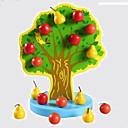 povoljno Muški satovi-Poučna igračka Profesionalna S magnetom Noviteti Apple drven Crtići 1 pcs Dječji Odrasli Dječaci Djevojčice Igračke za kućne ljubimce Poklon