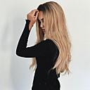 ieftine Peruci & Extensii de Păr-Peruci Sintetice Ondulat Ondulat Perucă Blond Lung Negru / Strawberry Blonde Păr Sintetic Pentru femei Rezistent la Căldură Păr Ombre Rădăcini Închise Blond
