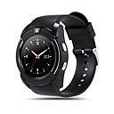olcso a legnépszerűbb-V8 Férfi Intelligens Watch Android Bluetooth Érintőképernyő Kéz nélküli hívások Fényképezőgép Távolságmérés Lépésszámlálók Lépésszámláló Távirányító Fitnesz követő Testmozgásfigyelő Alvás nyomkövető