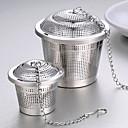 رخيصةأون أدوات الفرن-الفولاذ المقاوم للصدأ الدليل 1PC مصفاة الشاي / هدية / يوميا