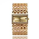 povoljno Maske/futrole za Xiaomi-Žene Luxury Watches Narukvica Pogledajte Ručni satovi s mehanizmom za navijanje Kvarc Nehrđajući čelik Srebro / Zlatna Cool imitacija Diamond Analog dame Svjetlucavo Ležerne prilike Okrugla Moda -